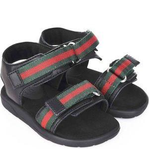 Authentic Gucci Gaufrette Toddler Sandal